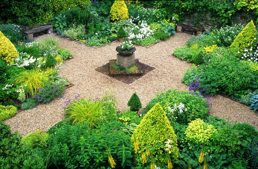 The Vean Garden