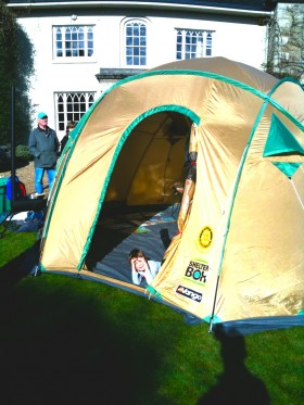 Bosvigo, Shelter Box